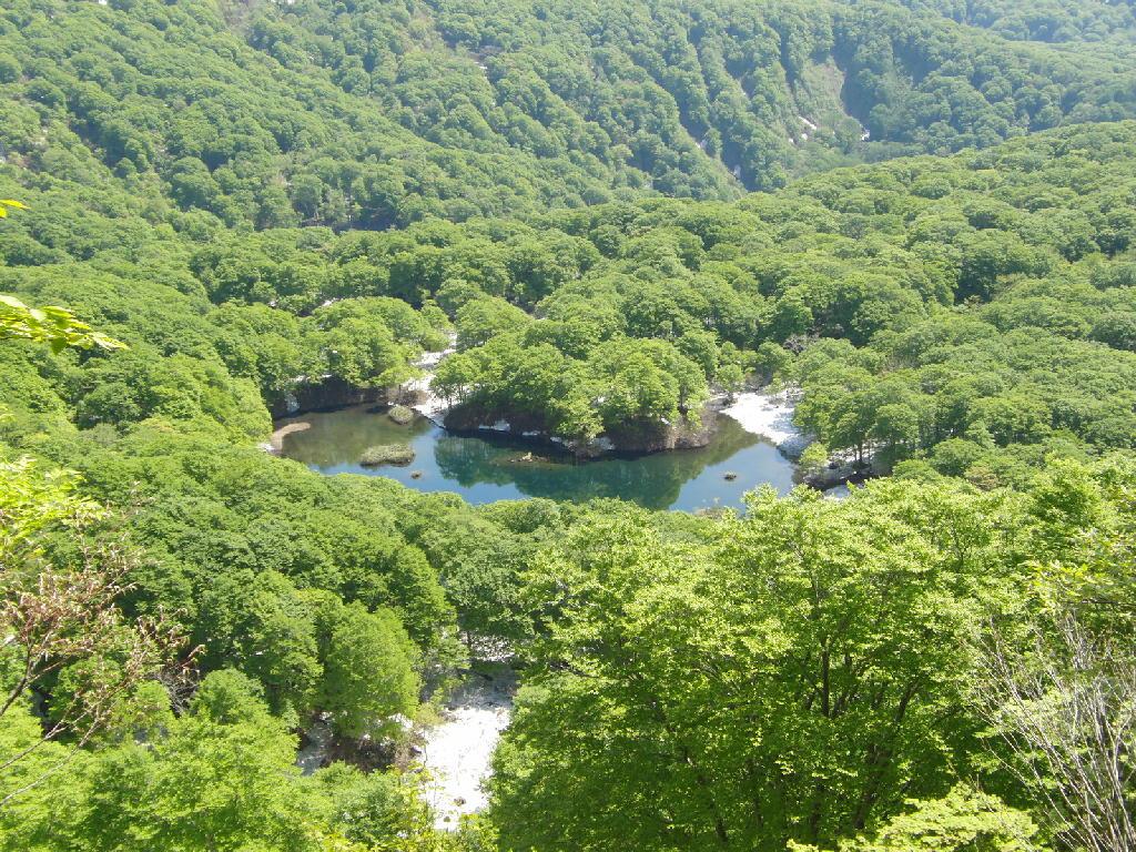 2012年5月31日の鳥海山の風景㊦