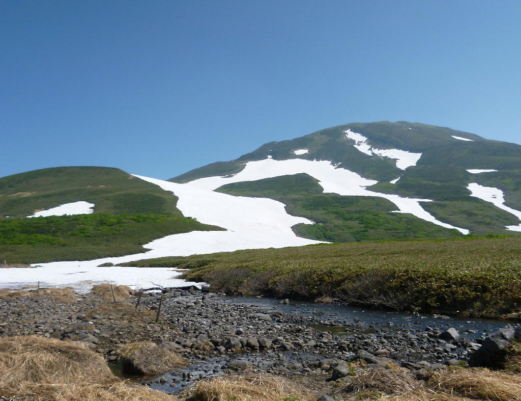 2012年6月28日の鳥海山