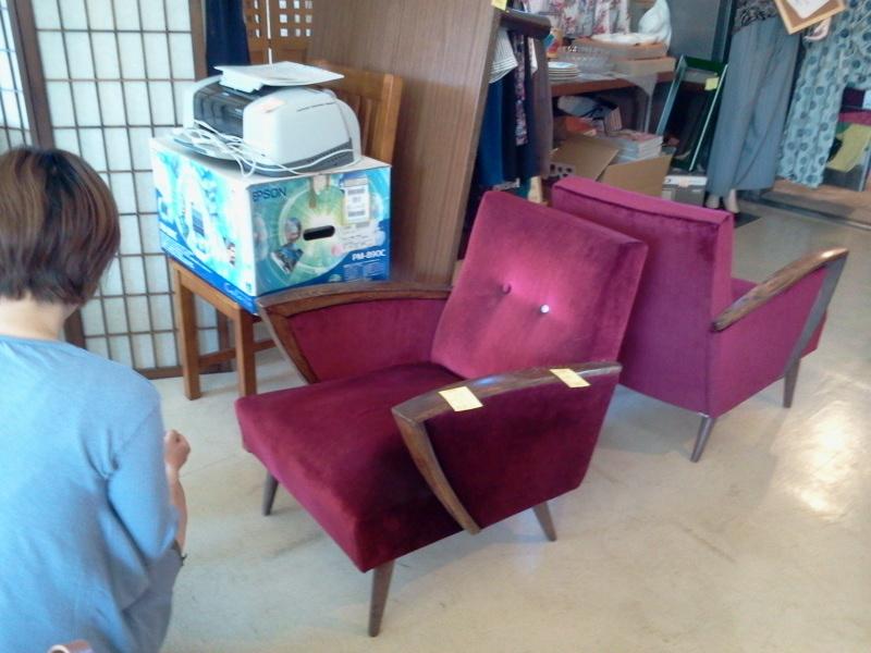 レトロ椅子売れたー!