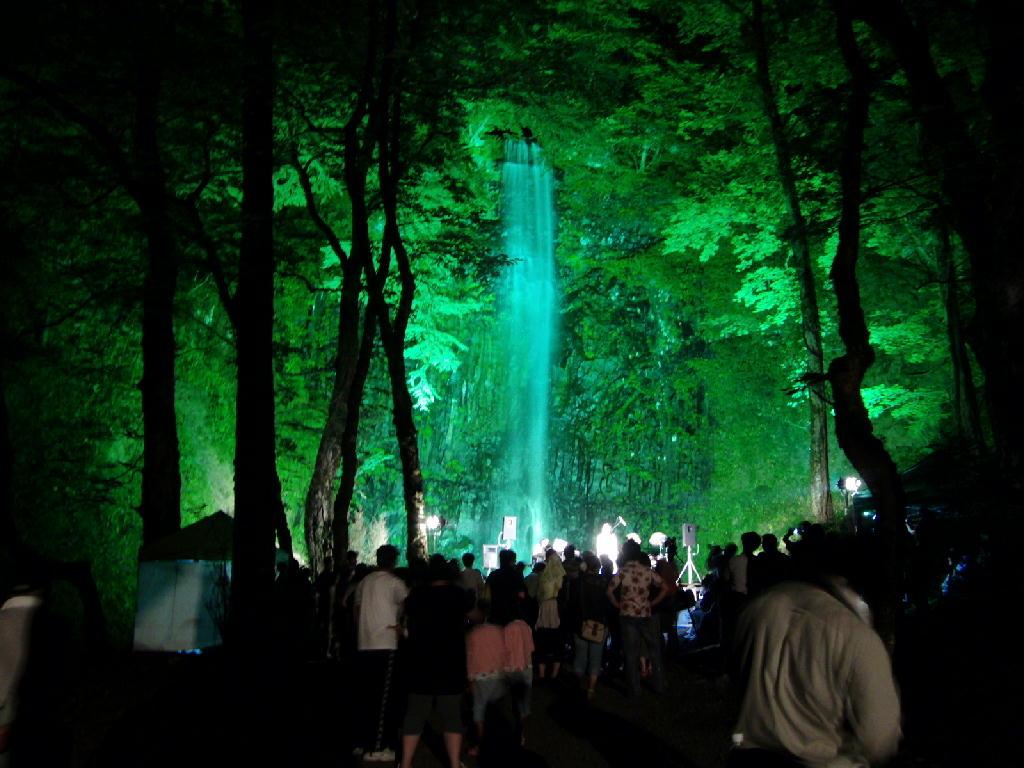 第九回玉簾の滝フェスティバル