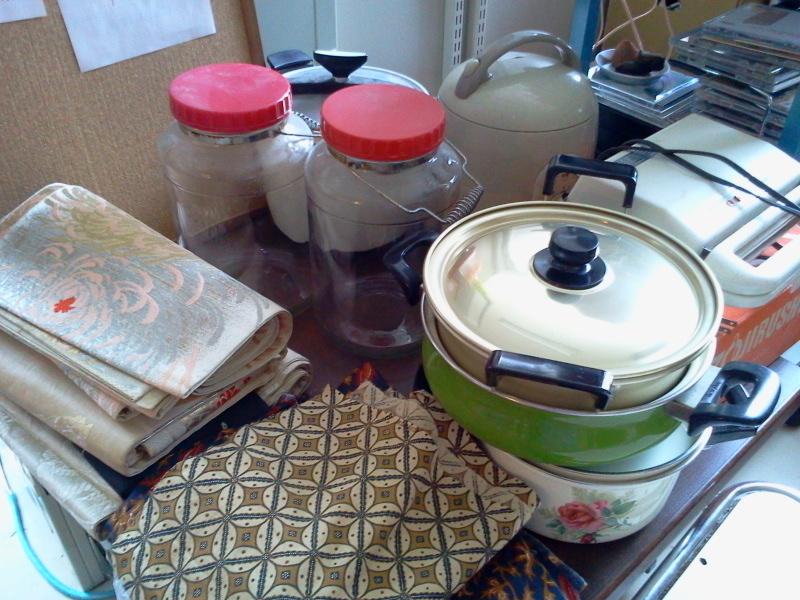 豆の日&山田町に鍋やかん送って届いたり。