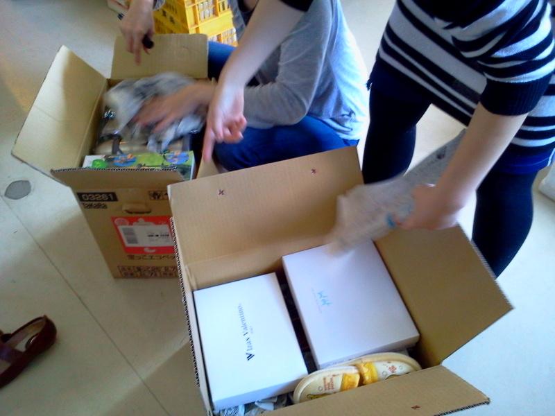 今日は20箱以上梱包できました!