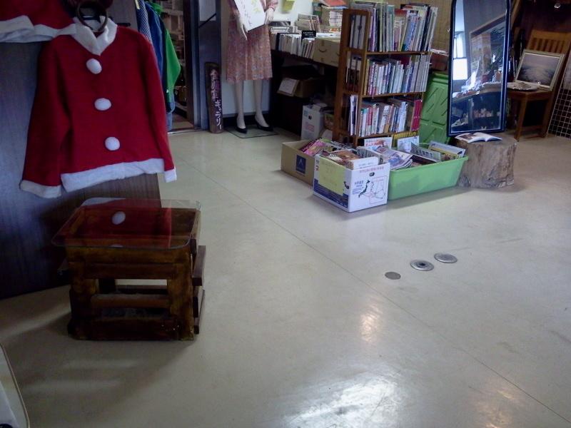 なんだか、店内がスッキリしてきた。