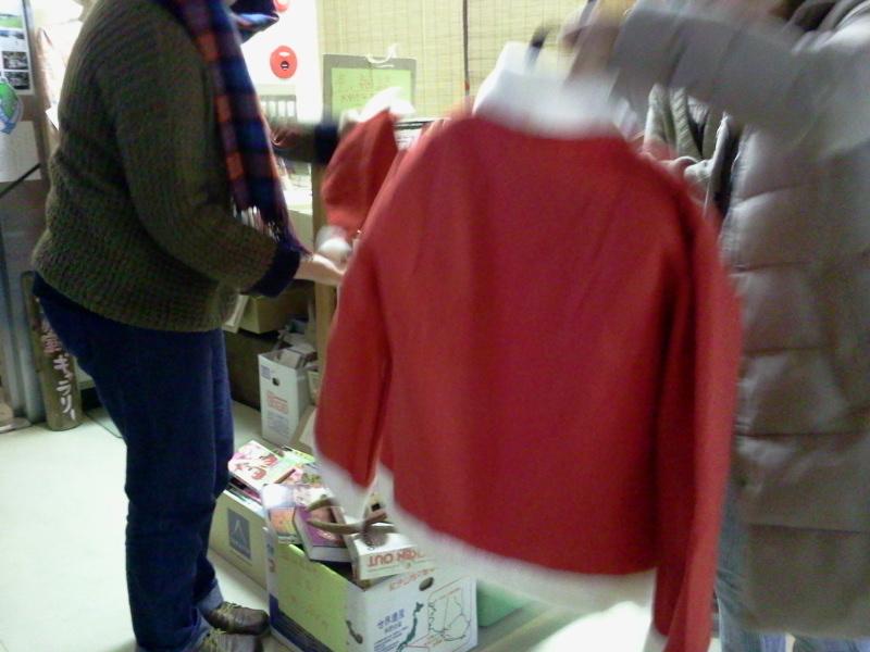 サンタさん服売れました。