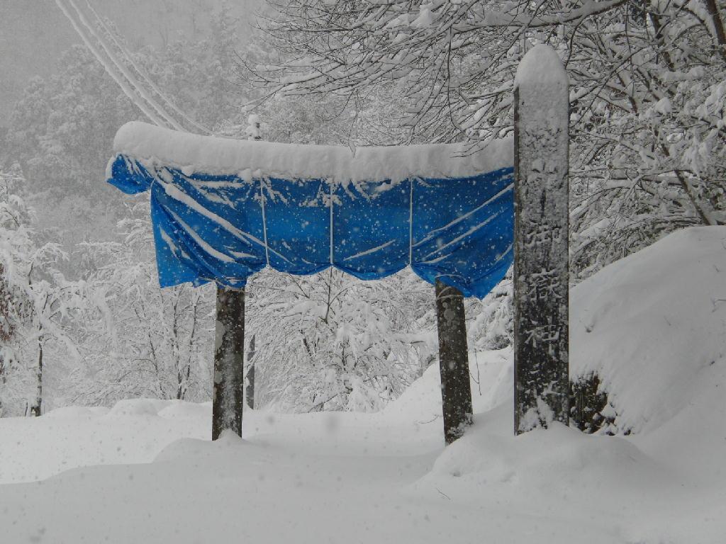 2012/12/9 玉簾の滝付近の風景