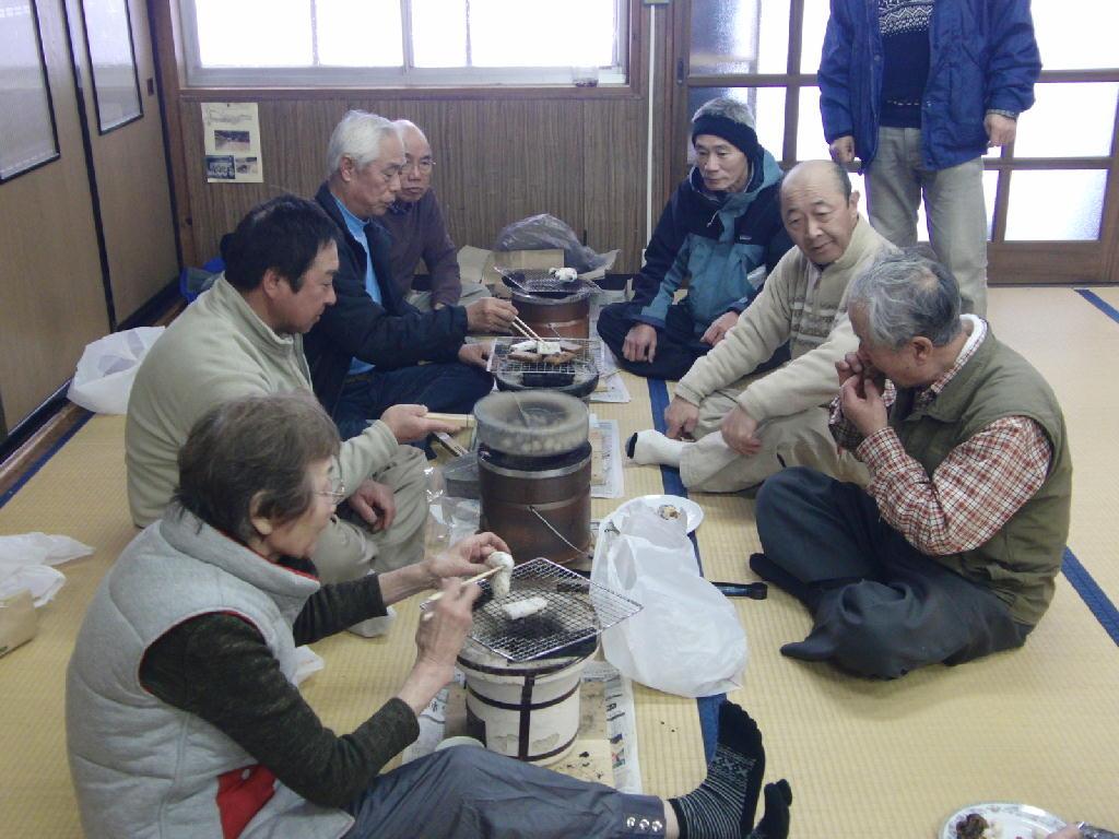 2013年2月3日 玉簾の滝 氷瀑ツアーの様子②
