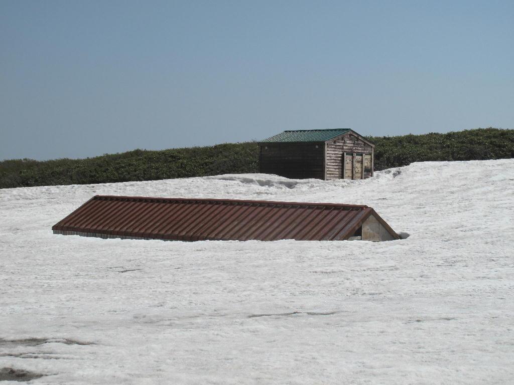 2013年 6/5の鳥海山の風景