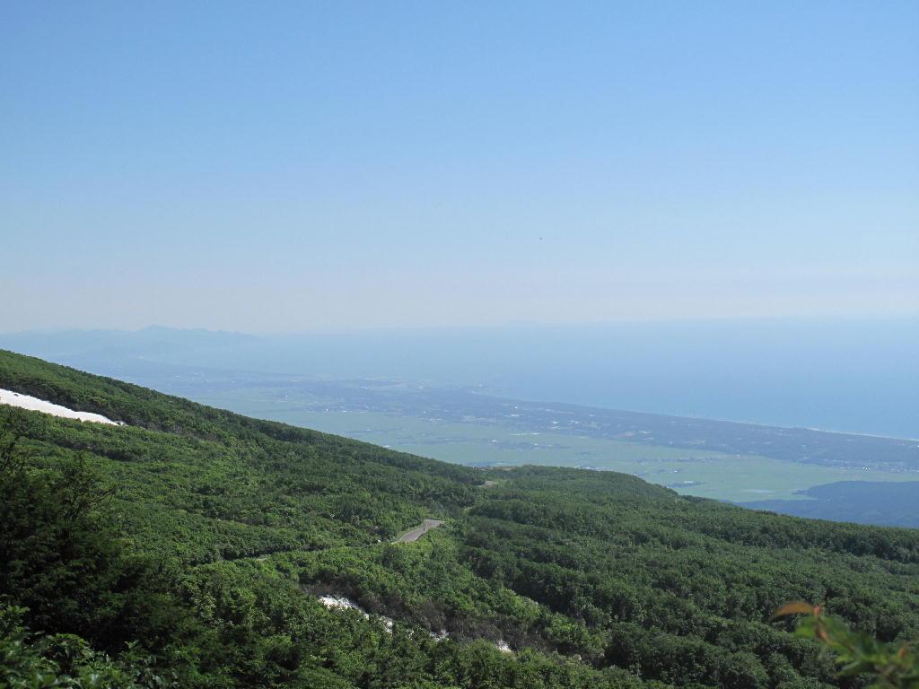 6/24 鉾立〜鳥海湖までの風景など